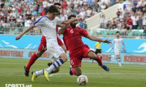 Фоторепортаж матча Узбекистан – Сирия