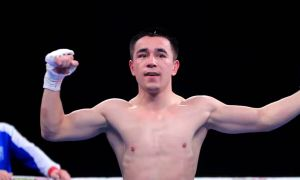 FULL FIGHT. Hasanboy Dusmatov knocks out Mexican Jesus Cervantes