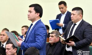 Умид Ахматджанов провёл встречу с вице-президентами региональных ассоциаций и директорами академий