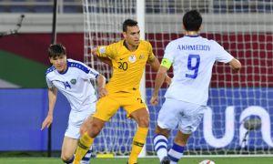 Photo Gallery. Australia vs Uzbekistan