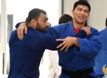 Наши дзюдоисты в Ташкенте проводят сбор