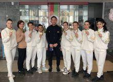 Боксчи қизларимиз Беларусдаги турнирда 5та олтин медаль қўлга киритди