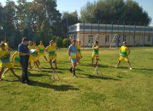 Женская сборная Узбекистана U-19 сдала нормативы по физической подготовке