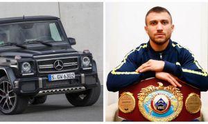 Василий Ломаченко гаражидан қандай қимматбаҳо автомобиллар ўрин олган?