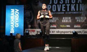 Shakhram Giyasov knocks out Julio Laguna at Wembley