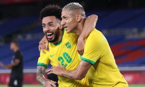 """Токио 2020"". 6 гол урилган ўйинда Бразилия Германияни таслим этди"