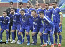 FC Bunyodkor play a 1-1 draw with FC Andijan