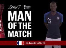 ФИФА Дания - Франция учрашувининг энг яхши футболчисини аниқлади