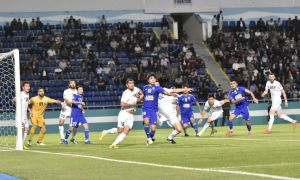 Khumoyun Murtazoev's double secures a 2-0 win for FC Nasaf overFC Kokand