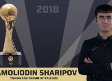 Jamoliddin Sharipov named as the 2018 PFL Futsal Player of the Year