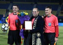 FIFA Referee Vladislav Tseytlin announces his retirement