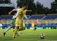 Davron Hoshimov pens one-year contract with FC Navbahor