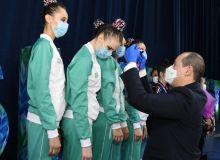 Награждены представительницы художественной гимнастики, завоевавшие лицензию Токио-2020
