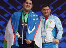 Рустам Джангабаев в рамках чемпионата мира завоевал две бронзы