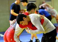 Наши борцы проводят УТС с представителями сборной Кореи по спортивной борьбе