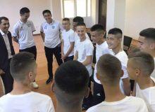 Руководство АФУ накануне ЧМ встретилось со сборной Узбекистана, состоящей из воспитанников детских домов