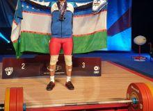 На ЧМ наш штангист завоевал 3 медали
