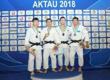 Кемран Нуриллаев на открытом кубке Азии по дзюдо завоевал золотую медаль