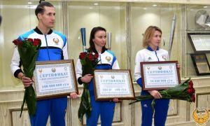 Лицензиаты Токийской Олимпиады по современному пятиборью получили награды