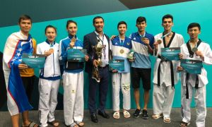 Uzbek athletes finish third at the Asian Junior Taekwondo Championships 2019