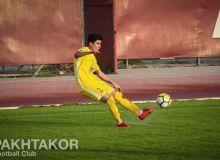 Джасур Яхшибаев: Очень надеюсь, что в этом сезоне буду полезен команде