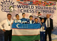 Uzbek chess players finish second at the WYCO 2019 in Turkey