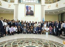 Прошла церемония открытия международного семинара по курашу, который впервые проходит в Ташкенте