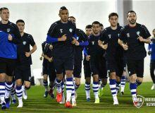 Футболисты национальной сборной Узбекистана продолжают тренироваться в Дубае