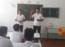 В региональной детско-юношеской футбольной академии Сурхандарьинской области прошёл семинар по судейству