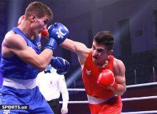 Javlon Yuldoshev eliminates AIBA Junior World Champion Bilolbek Mirzarakhimov