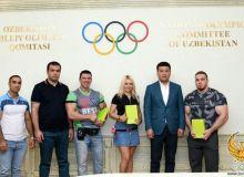 Достойно представляющие Узбекистан бодибилдеры будут вознаграждены от имени НОК