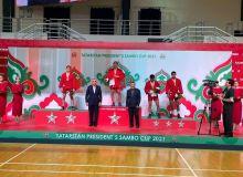 Самбисты Узбекистана стали обладателями трёх медалей Кубка Президента Татарстана