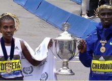 Африкалик югурувчилар Бостон марафонида ғалаба қозонишди