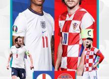 Евро-2020. Англия - Хорватия: Учрашувда ҳисоб очилди! (матнли трансляция)