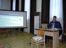 Проходит семинар доктора Геннадиюса Соколоваса для наших тренеров