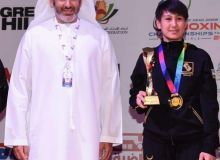 Sabina Bobokulova named the Best Woman Boxer at the ASBC Asian Confederation Junior Boxing Championships