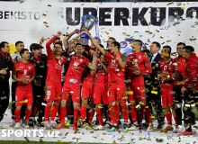 Суперкубок Узбекистана-2019: Фотогалерея с церемонии награждения