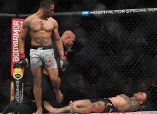 UFC 244 турнирида Кевин Ли мағлубиятсиз одимлаётган рақибини даҳшатли тарзда нокаутга учратди....Томоша қилинг