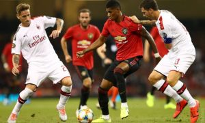 """Манчестер Юнайтед"" - ""Милан"" 2:2 (видео)"