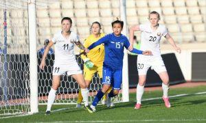 Женская сборная Узбекистана уступила Беларуси