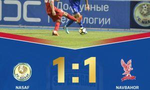 Молодые таланты против опытных игроков: «Насаф» - «Навбахор» 1:1 (Видео)