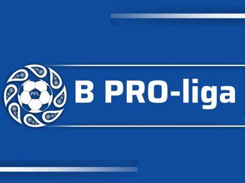 B Про-Лига: 2-тур учрашувларининг бошланиш вақтлари маълум