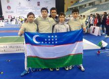 Чемпионат Азии: Саблисты впервые в истории завоевали медали!