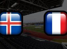 Исландия – Франция. Гризманн, Жиру ва Канте ўйинни асосий таркибда бошлайди