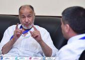 Муҳаммад Юсуф ал Мана федерацияга ташриф буюрди (фото)