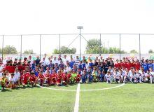 В Андижане состоялась церемония открытия футбольного мини-поля, построенного по программе АФК