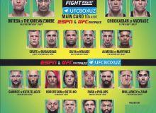 """""""UFC Fight Night 180"""" turnirida qayd etilgan natijalar bilan tanishing!"""