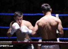 Андижонда профессионал бокс кечаси бўлиб ўтди (ФОТО)
