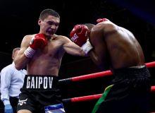 Маҳмуд Ғоипов профессионал боксдаги дастлабки мағлубиятни қабул қилди