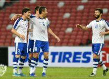Photo Gallery. Uzbekistan earn a 3-1 win over Singapore
